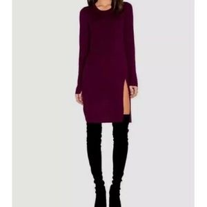 BCBGMAXAZRIA Merino wool Sweater dress